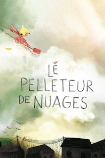 Le titre du livre est écrit sur un fond de nuages.