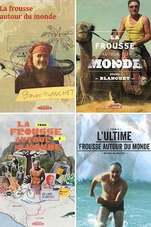 La frousse autour du monde – tomes 1 à 4