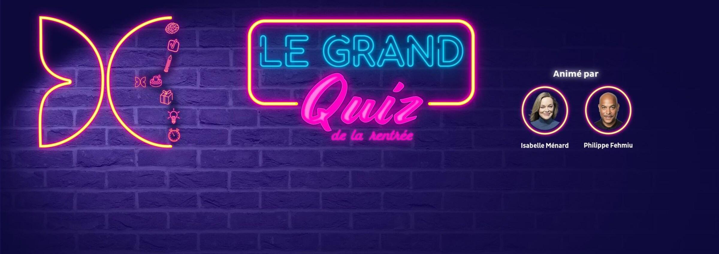 Le grand Quiz de la rentrée 2020 - Phase 2