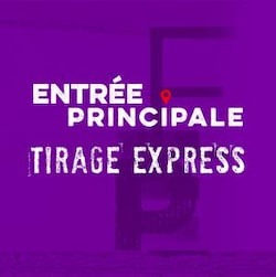 Entrée principale concours Tirage express