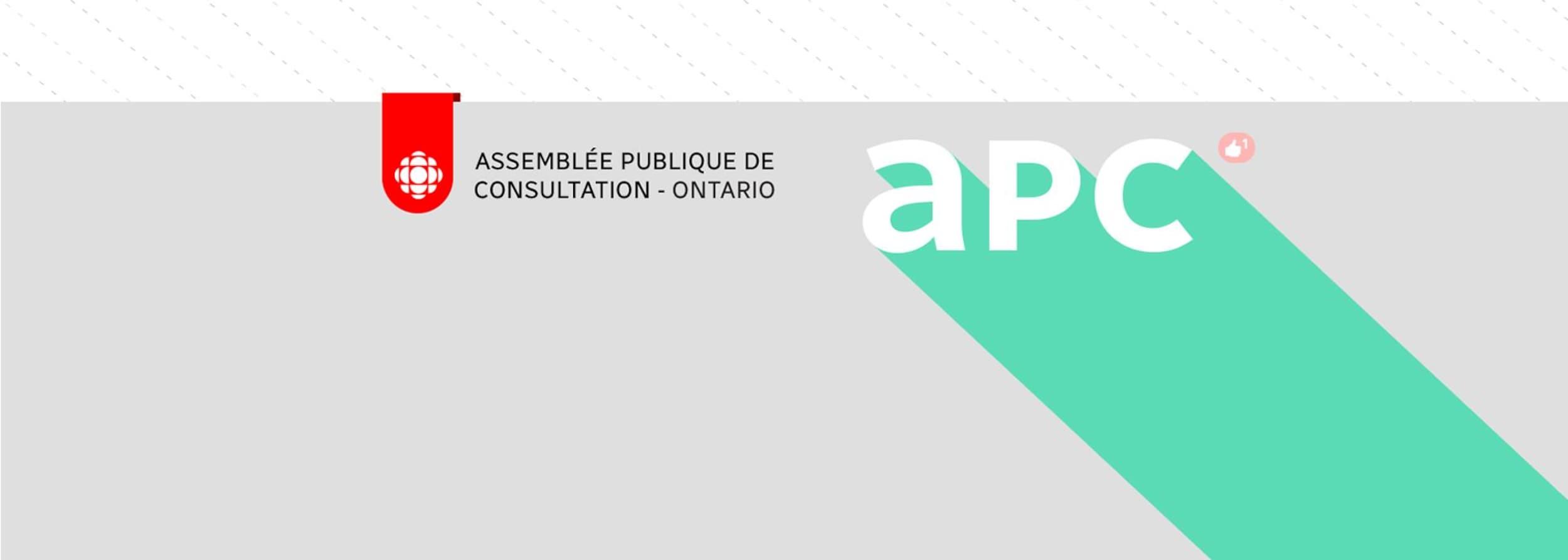 Assemblée publique de consultation - Ontario