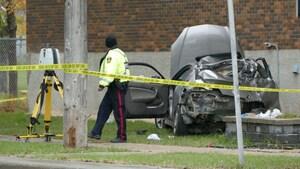 Un homme en état critique après une collision à Saint-Vital