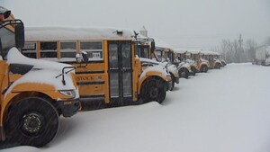 Pluie verglaçante, neige et grésil pour la Nouvelle-Écosse et Terre-Neuve