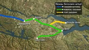 Saguenay envisage de construire un nouveau rail