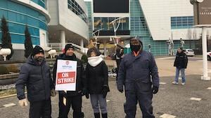 Grève au casino Caesars: les négociations sont rompues