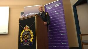 Un nouveau président pour l'Association des chefs de police de l'Ontario