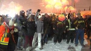Les travailleurs d'IOC en grève rejettent l'entente de principe
