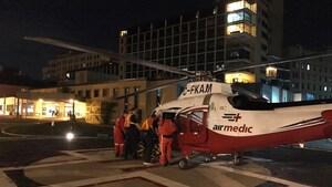 Québec se lance dans le transport médical par hélicoptère