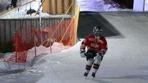 L'enjeu encore plus grand pour les participants du Ice Challenge de La Sarre