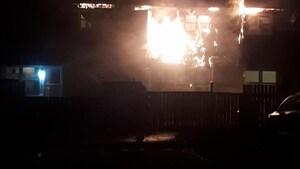 Cinq blessés dans un incendie à Dartmouth