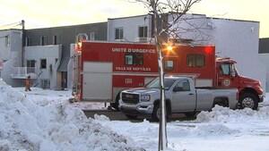 Un incendie jette une famille à la rue à Sept-Îles