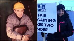 La fille d'un travailleur de la mine IOC, en grève depuis la fin mars, poursuit le combat de son père