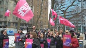 Manifestations d'employés d'hôpitaux