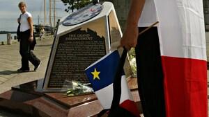 Le monument de l'Odyssée acadienne ne reviendra pas sur le front de mer d'Halifax cet été