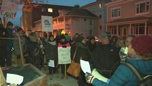 La Nuit des sans-abri rassemble aussi dans l'Est-du-Québec