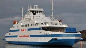 Le nouveau traversier Qajaq est incapable de traverser les glaces du détroit de Belle Isle