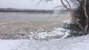Danger d'inondation à Deer Lake à cause d'un embâcle