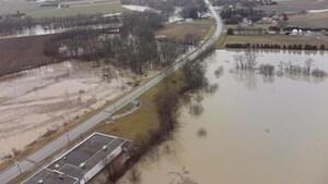 Inondations: état d'urgence et évacuations volontaires à Chatham-Kent