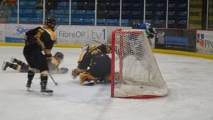 Hockey universitaire féminin: les Aigles Bleues évitent l'élimination
