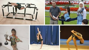 Une gymnaste francophone à Regina fait tourner les têtes