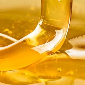 Gros plan sur du miel.