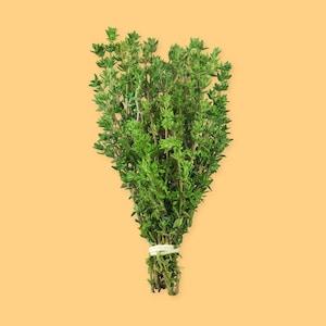 Un bouquet de thym frais.