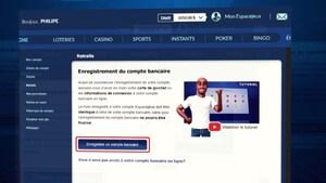 Capture d'écran d'un tutoriel de Loto-Québec.
