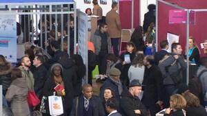 Le salon du travail et de la mobilité de Paris