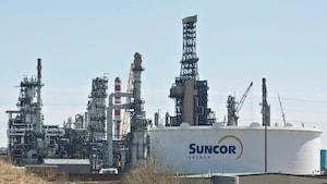 Raffinerie Suncor.