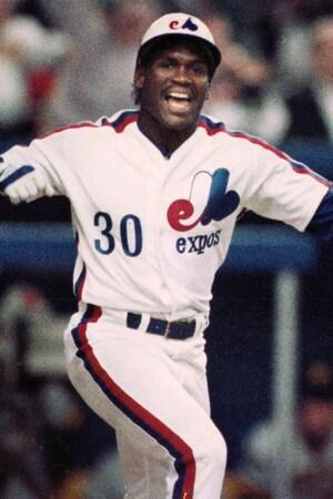 Tim Raines avec les Expos de Montréal