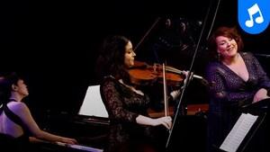 La contralto Marie-Nicole Lemieux et l'altiste Marina Thibeault en concert intime au studio 12.