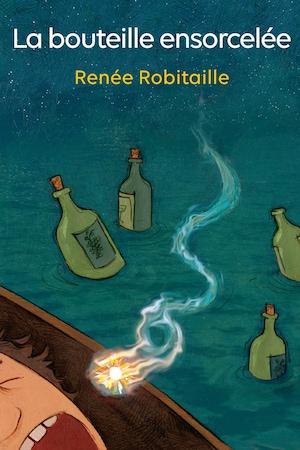 Page couverture du conte jeunesse <i>La bouteille ensorcelée</i>