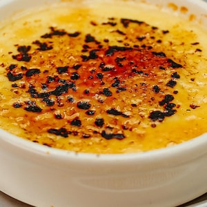 Crème catalane.