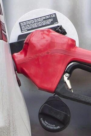 Pompe à essence.