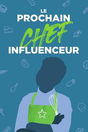 La silhouette d'un enfant avec un tablier de chef et un fouet à pâtisserie à côté du logo de la websérie.