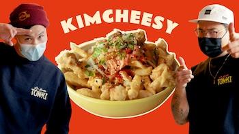 Michel et Michel et la poutine Kimcheesy de La Belle Tonki.