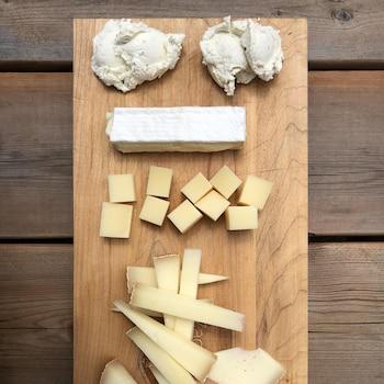 Plateau de fromages des Cantons-de-l'Est.