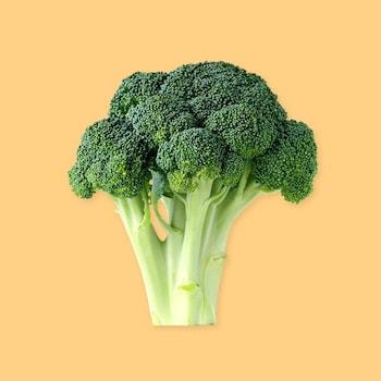 Un brocoli entier.
