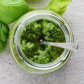 Pesto - Ingrédients - Mordu
