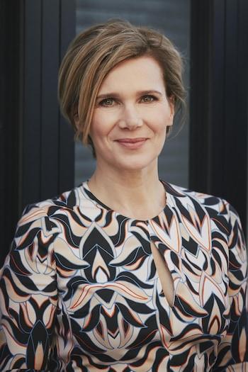 Portrait de la chef Caroline Dumas