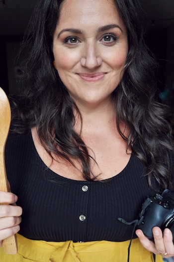 Portrait de la chef Caroline Huard.