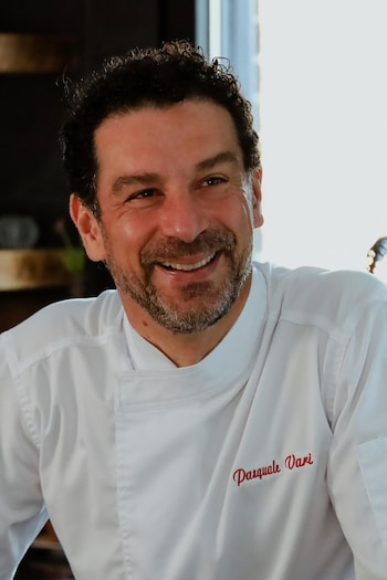 Portrait du chef Pasquale Vari.