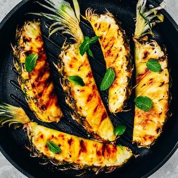 Ananas rôti   - Recettes - Mordu
