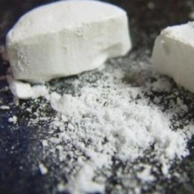 Un comprimé de fentanyl, un puissant analgésique