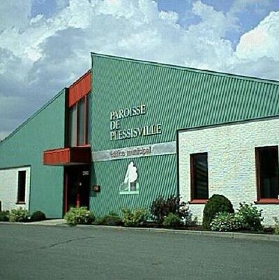 L'édifice de la Paroisse de Plessisville