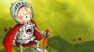 Couverture du livre Le petit chevalier qui combattait les monstres, de Gilles Tibo et Geneviève Després