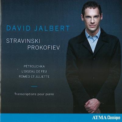 DAVID JALBERT: STRAVINSKI / PROKOFIEV