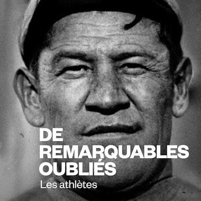Portrait d'époque montrant l'athlète coiffé d'une casquette.