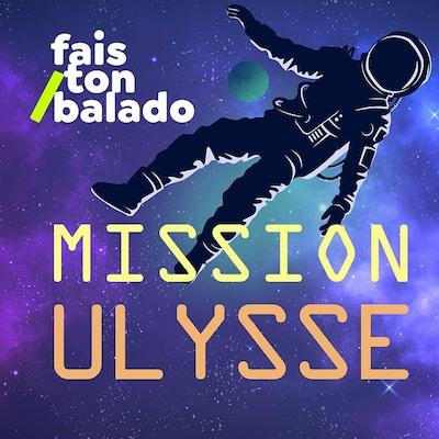 Un astronaute est seul dans l'espace.