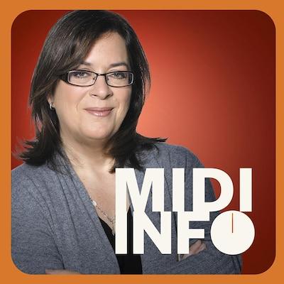 Midi info sur ICI Première.